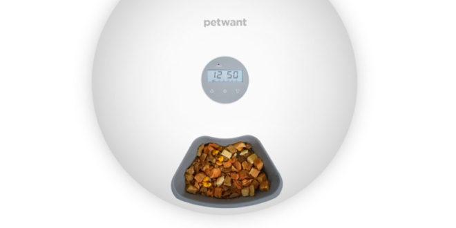 Wi-Fi Automatický dávkovač krmiva pro psy