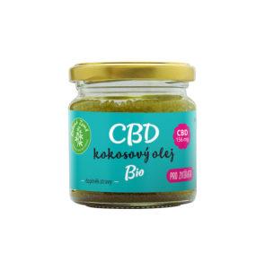 cbd kokosovy olej pro zvirata - 30 ml