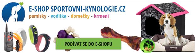 E-shop Sportovní-kynologie.cz - To pravé pro Vašeho mazlíka!