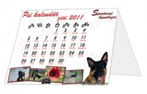 Překládací kalendář A4
