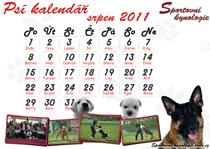 Kalendář srpen